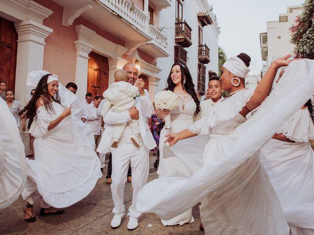 El matrimonio de Javier y Adriana en Cartagena, Bolívar 9