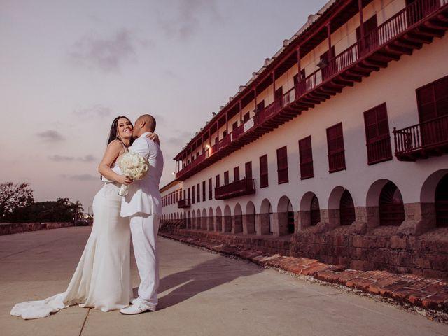 El matrimonio de Javier y Adriana en Cartagena, Bolívar 10