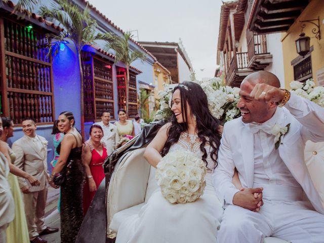 El matrimonio de Javier y Adriana en Cartagena, Bolívar 19