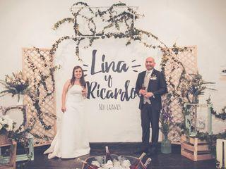 El matrimonio de Lina y Ricardo