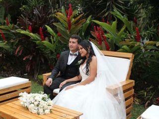 El matrimonio de Luis  y Jasmín