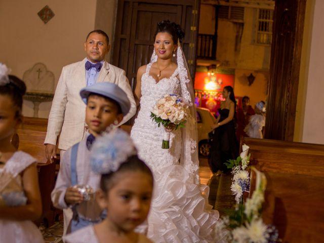 El matrimonio de Álvaro y Laura en Cartagena, Bolívar 12