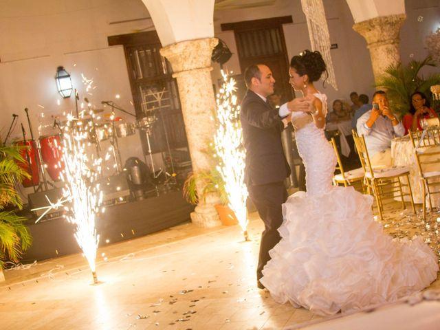 El matrimonio de Álvaro y Laura en Cartagena, Bolívar 35