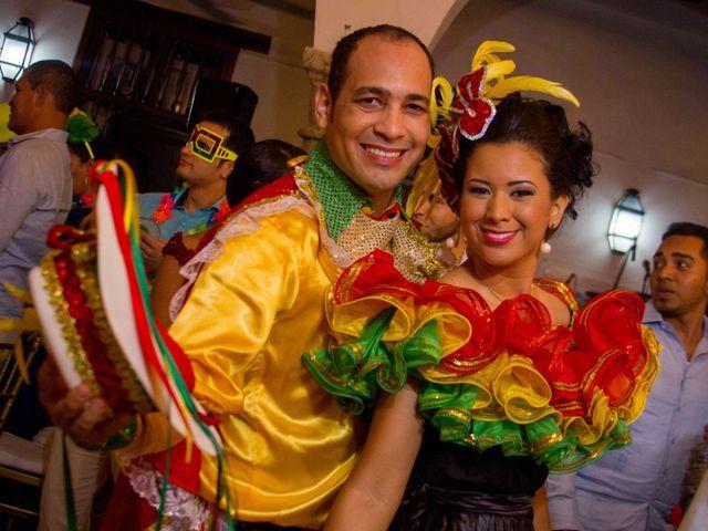 El matrimonio de Álvaro y Laura en Cartagena, Bolívar 40