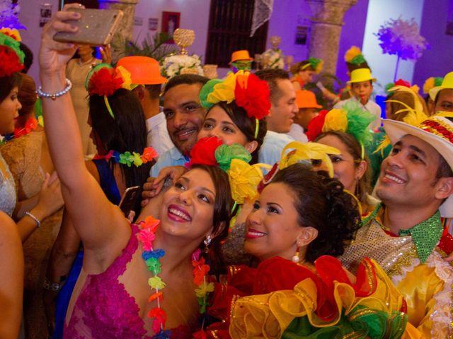 El matrimonio de Álvaro y Laura en Cartagena, Bolívar 42