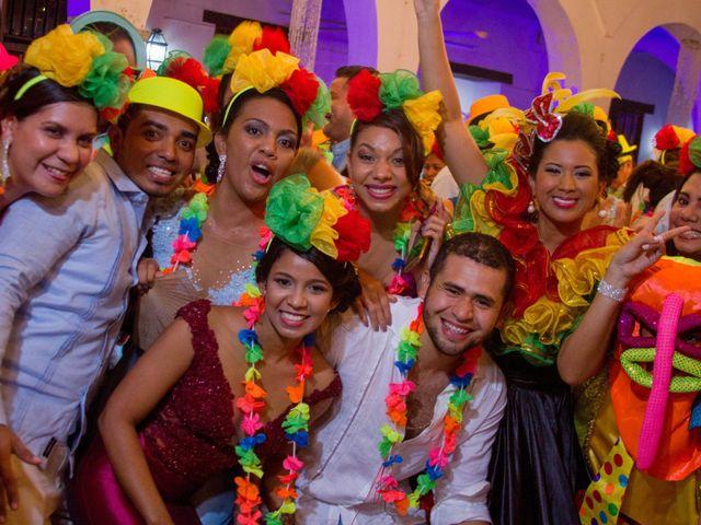 El matrimonio de Álvaro y Laura en Cartagena, Bolívar 43