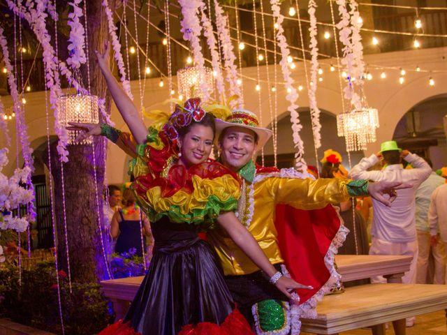 El matrimonio de Álvaro y Laura en Cartagena, Bolívar 49