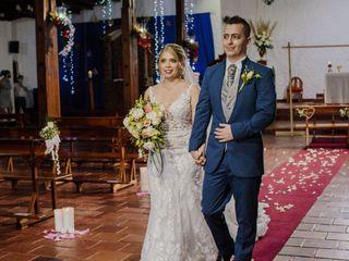 El matrimonio de Nathalia y Jonathan