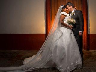 El matrimonio de Norida y Jorge