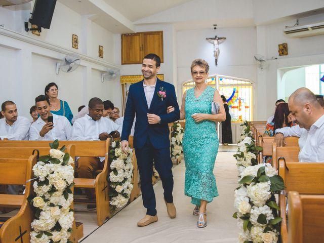 El matrimonio de Andrés y Sindy en Cartagena, Bolívar 7
