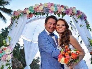 El matrimonio de Monica y Diego