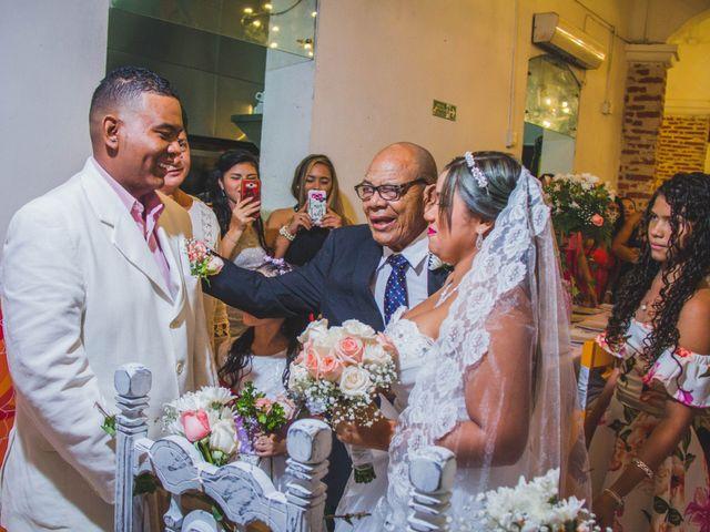 El matrimonio de Carlos y Ledis en Cartagena, Bolívar 28