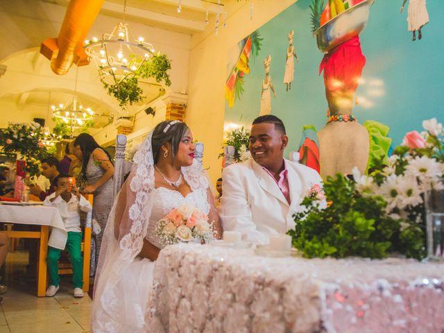 El matrimonio de Carlos y Ledis en Cartagena, Bolívar 29