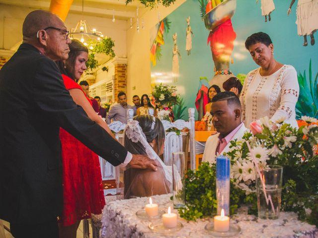 El matrimonio de Carlos y Ledis en Cartagena, Bolívar 36
