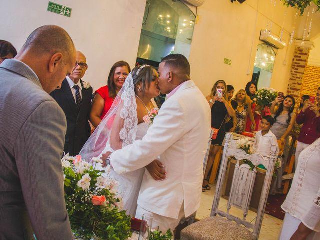 El matrimonio de Carlos y Ledis en Cartagena, Bolívar 37