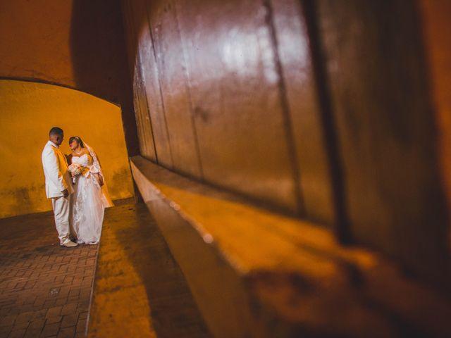 El matrimonio de Carlos y Ledis en Cartagena, Bolívar 40