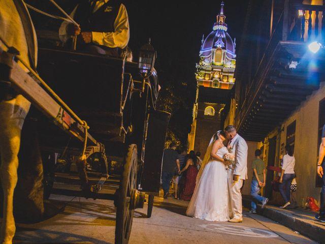 El matrimonio de Carlos y Ledis en Cartagena, Bolívar 41