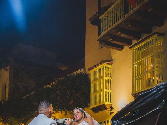 El matrimonio de Carlos y Ledis en Cartagena, Bolívar 42