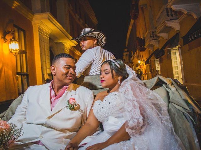 El matrimonio de Carlos y Ledis en Cartagena, Bolívar 43
