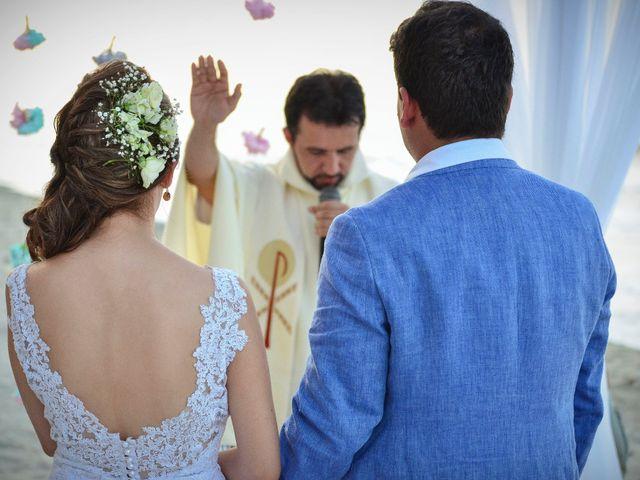 El matrimonio de Diego y Monica en Santa Marta, Magdalena 4