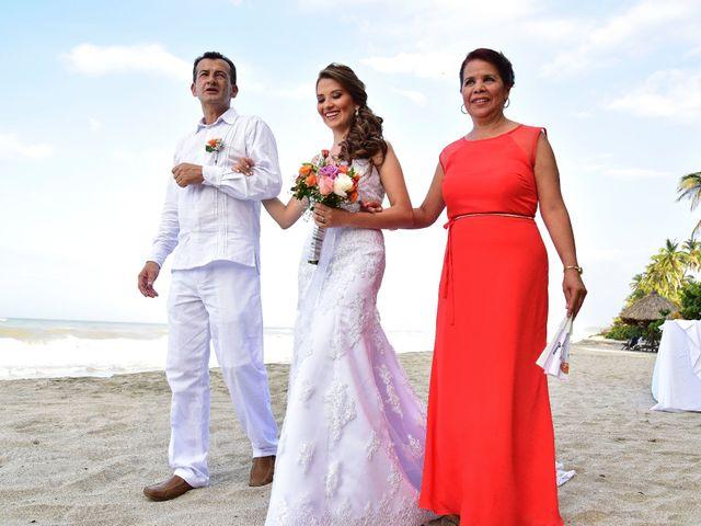 El matrimonio de Diego y Monica en Santa Marta, Magdalena 6