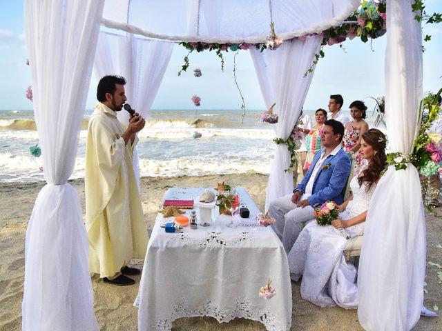 El matrimonio de Diego y Monica en Santa Marta, Magdalena 7