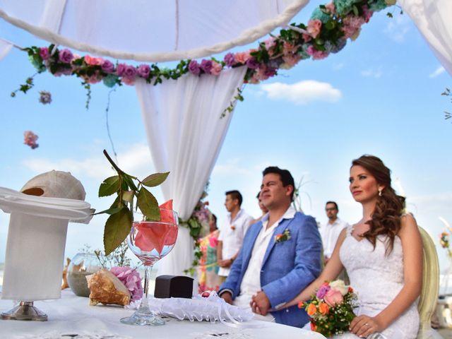 El matrimonio de Diego y Monica en Santa Marta, Magdalena 8