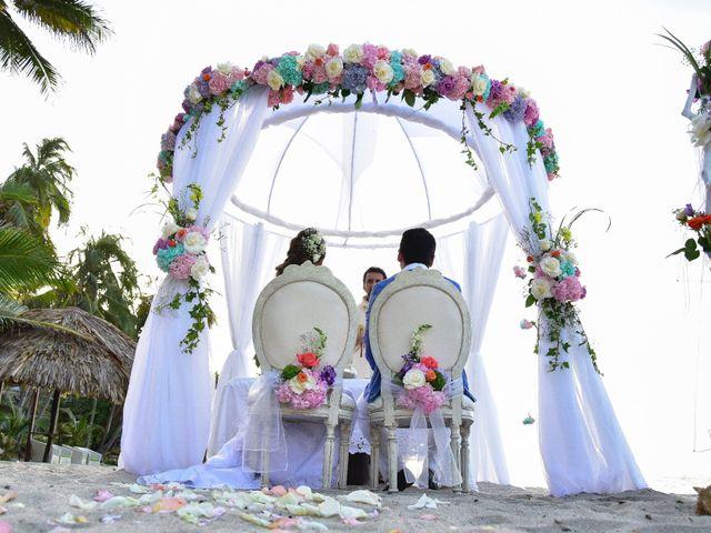 El matrimonio de Diego y Monica en Santa Marta, Magdalena 10