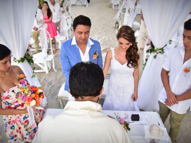 El matrimonio de Diego y Monica en Santa Marta, Magdalena 11