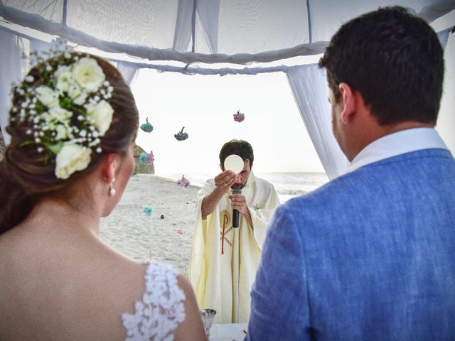 El matrimonio de Diego y Monica en Santa Marta, Magdalena 12