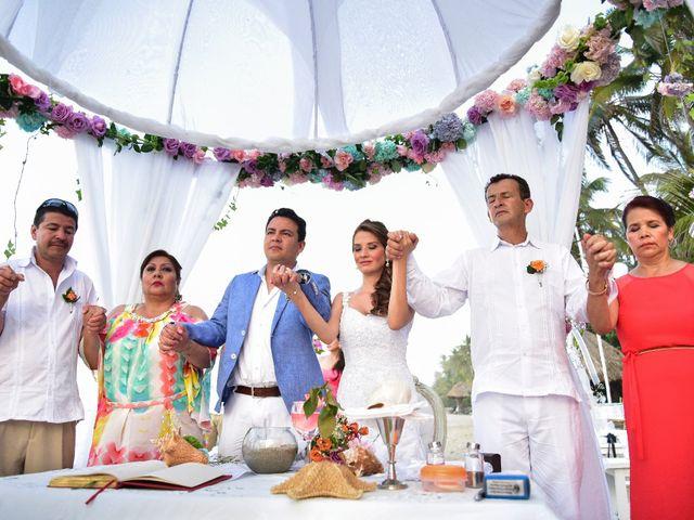 El matrimonio de Diego y Monica en Santa Marta, Magdalena 14