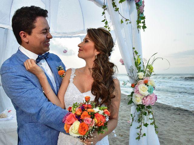 El matrimonio de Diego y Monica en Santa Marta, Magdalena 16