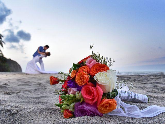 El matrimonio de Diego y Monica en Santa Marta, Magdalena 18