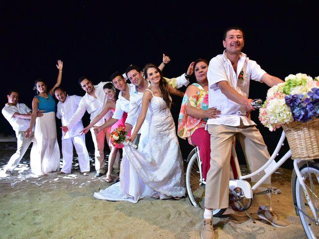 El matrimonio de Diego y Monica en Santa Marta, Magdalena 31