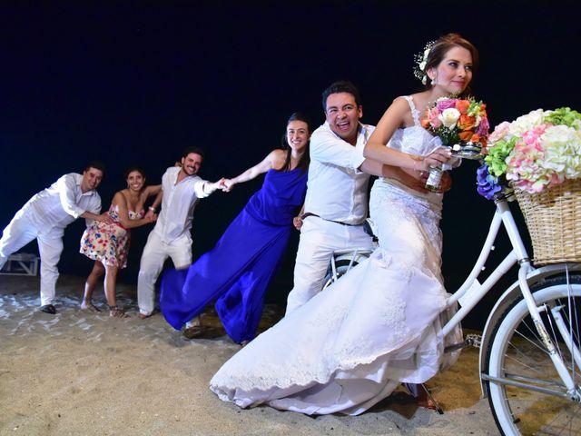 El matrimonio de Diego y Monica en Santa Marta, Magdalena 32