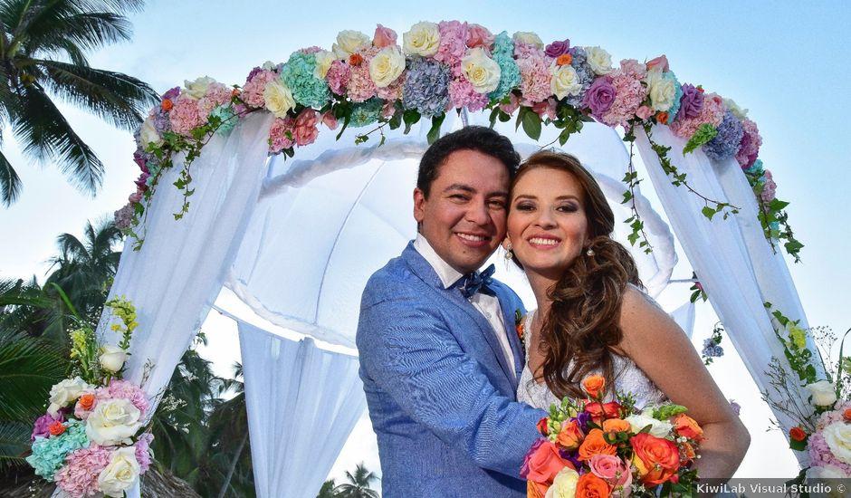 El matrimonio de Diego y Monica en Santa Marta, Magdalena