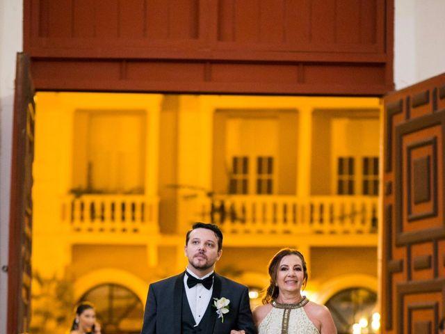 El matrimonio de Cassiano y Ana en Cartagena, Bolívar 18