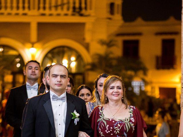 El matrimonio de Cassiano y Ana en Cartagena, Bolívar 19