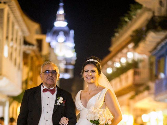 El matrimonio de Cassiano y Ana en Cartagena, Bolívar 23