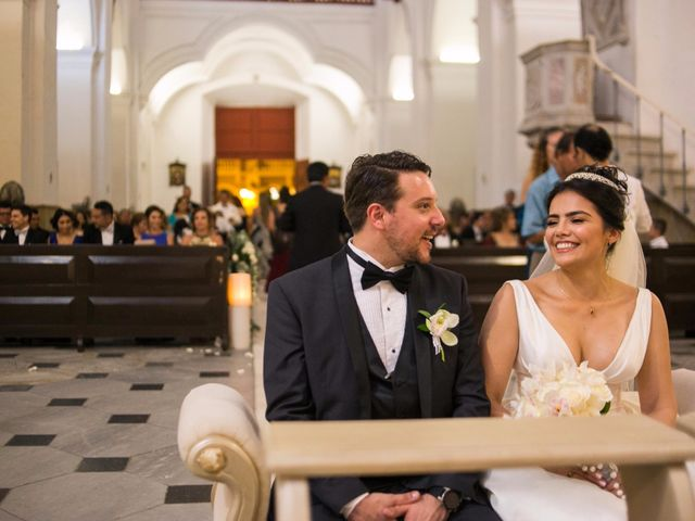 El matrimonio de Cassiano y Ana en Cartagena, Bolívar 1