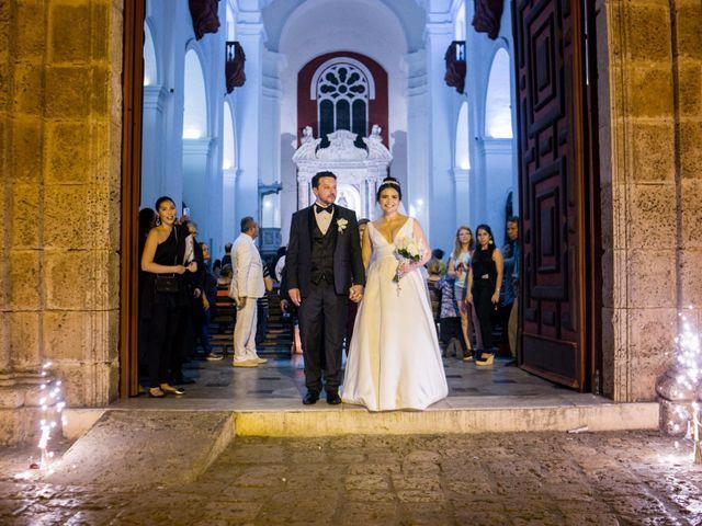 El matrimonio de Cassiano y Ana en Cartagena, Bolívar 42