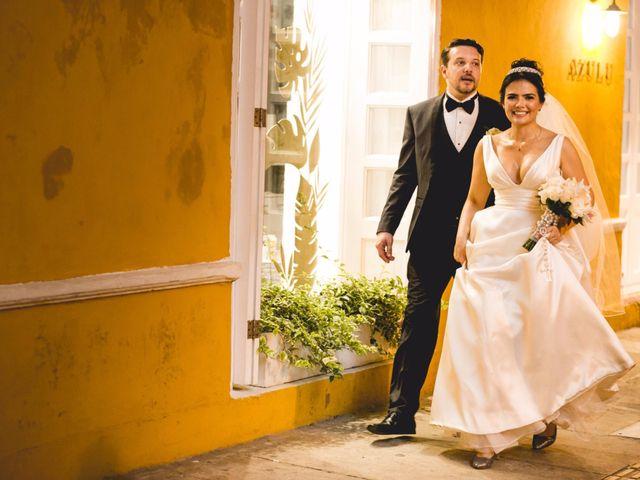 El matrimonio de Cassiano y Ana en Cartagena, Bolívar 44