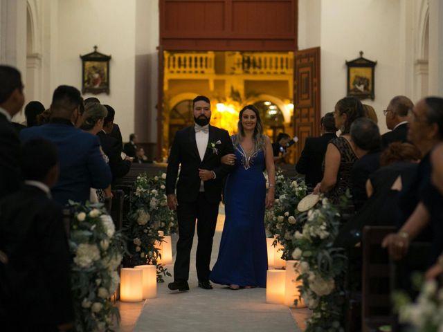 El matrimonio de Cassiano y Ana en Cartagena, Bolívar 105
