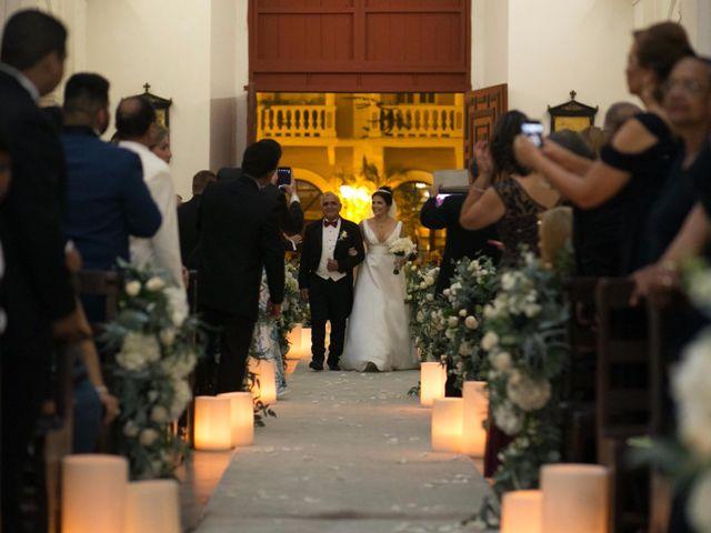 El matrimonio de Cassiano y Ana en Cartagena, Bolívar 108