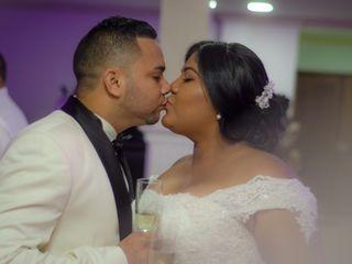 El matrimonio de Dina y Karel