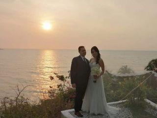 El matrimonio de Mabel y Andrés 1