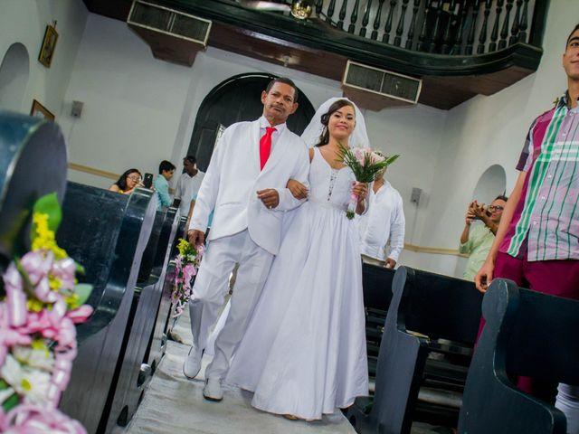 El matrimonio de Francisco y Victoria en Cartagena, Bolívar 8