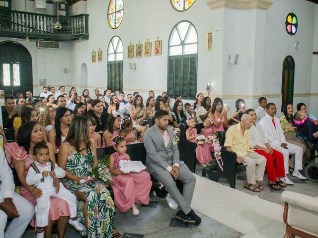 El matrimonio de Francisco y Victoria en Cartagena, Bolívar 18