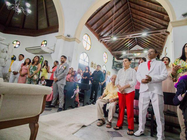 El matrimonio de Francisco y Victoria en Cartagena, Bolívar 25