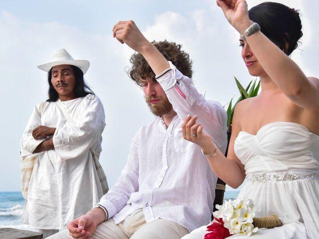 El matrimonio de Andrés y Tatiana en Santa Marta, Magdalena 20